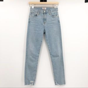 Agolde Sophie High Rise Skinny Crop Jeans Parallel